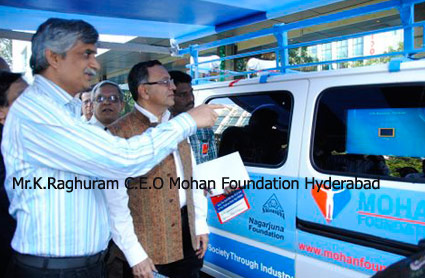 Mohan Foundation----Launch of Public Education Van and Honouring of Donar Families